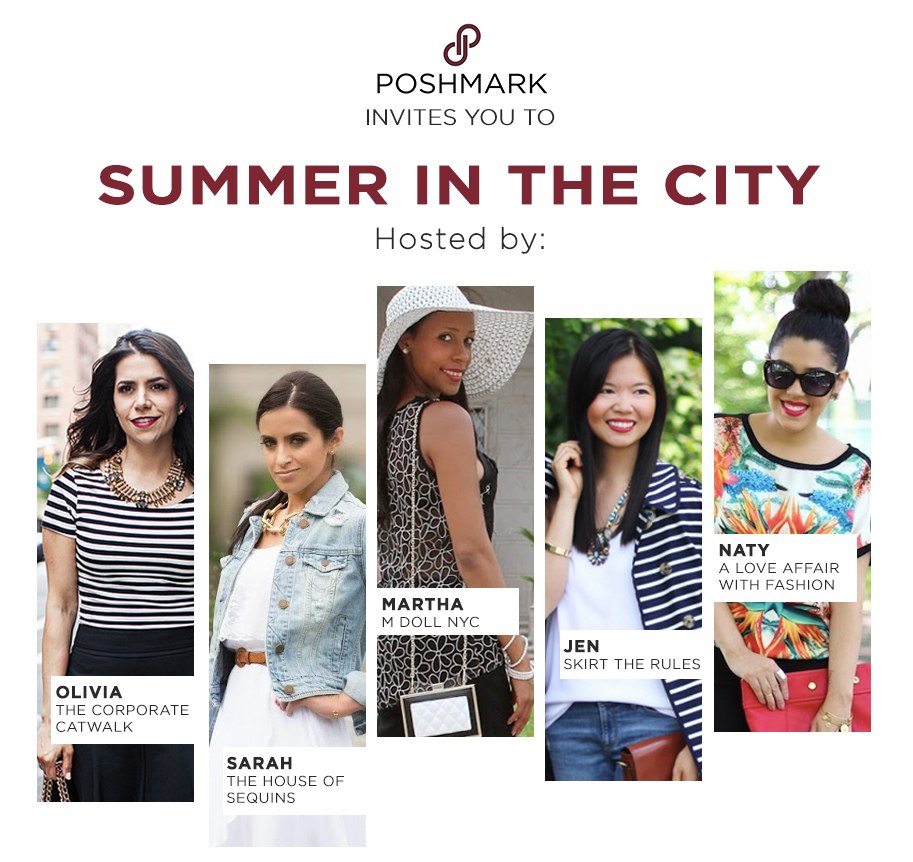 'Summer in the City' LIVE NYC Posh Party
