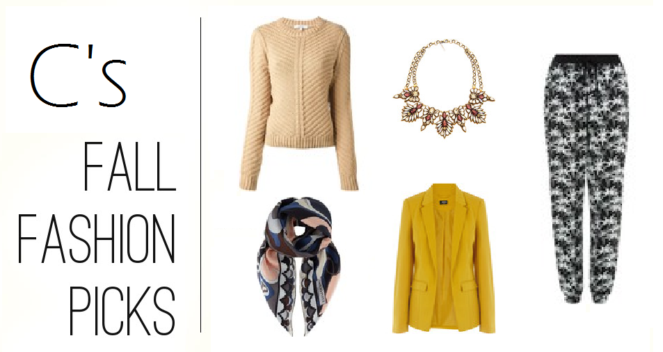 C's Fall Fashion Picks