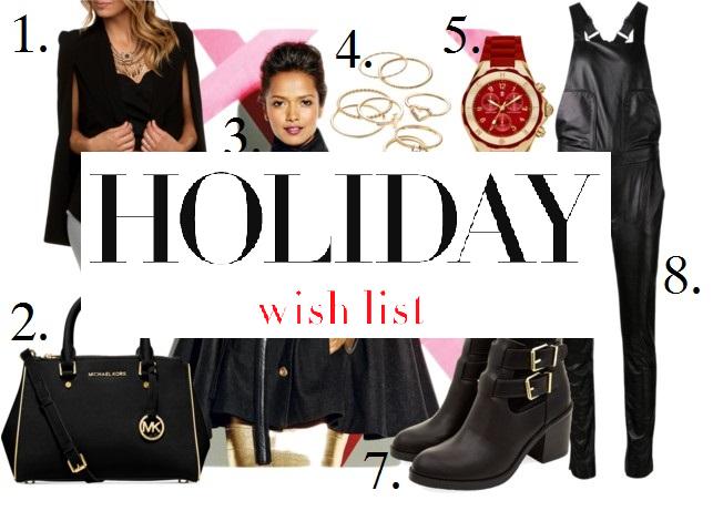 C's Holiday Wish List