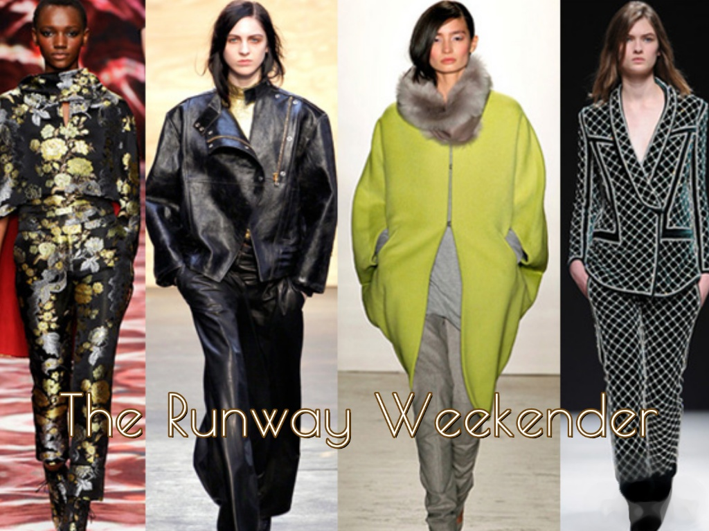 The Runway Weekender