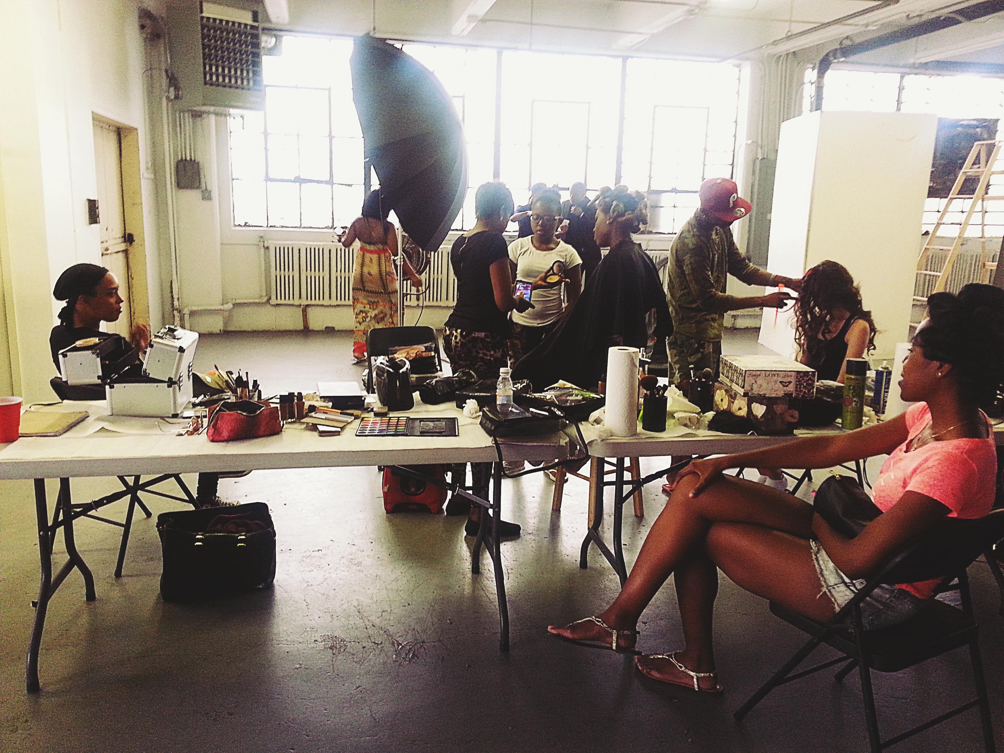 Behind the Scenes Shoot: UDE Models