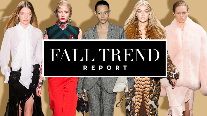 Fall Runway Trends