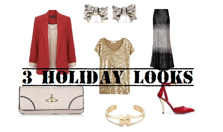 3 Holiday Party Inspired Looks