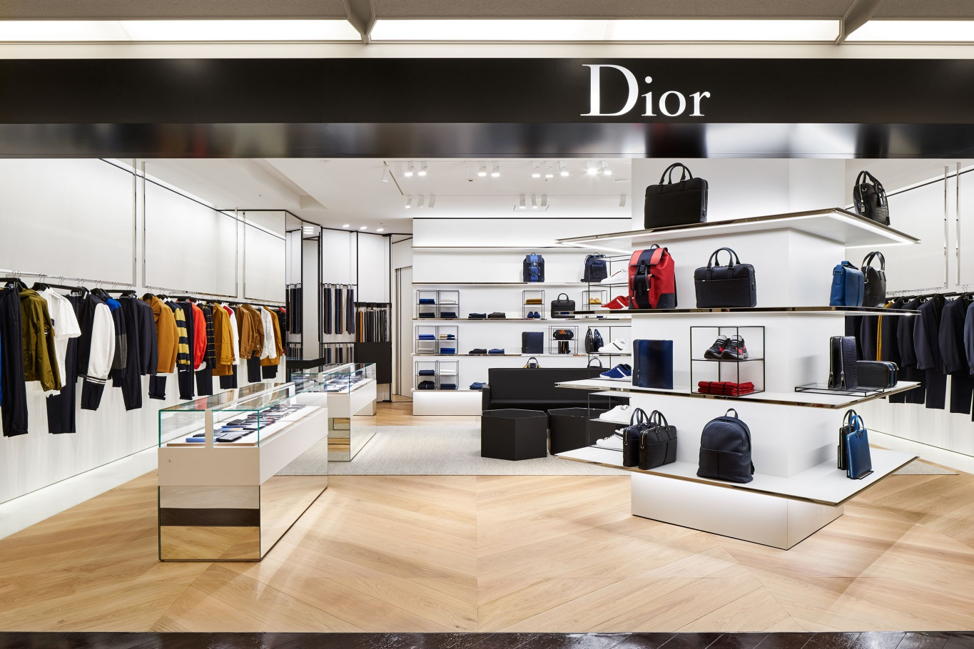 Store Launch at The Dior Homme Boutique