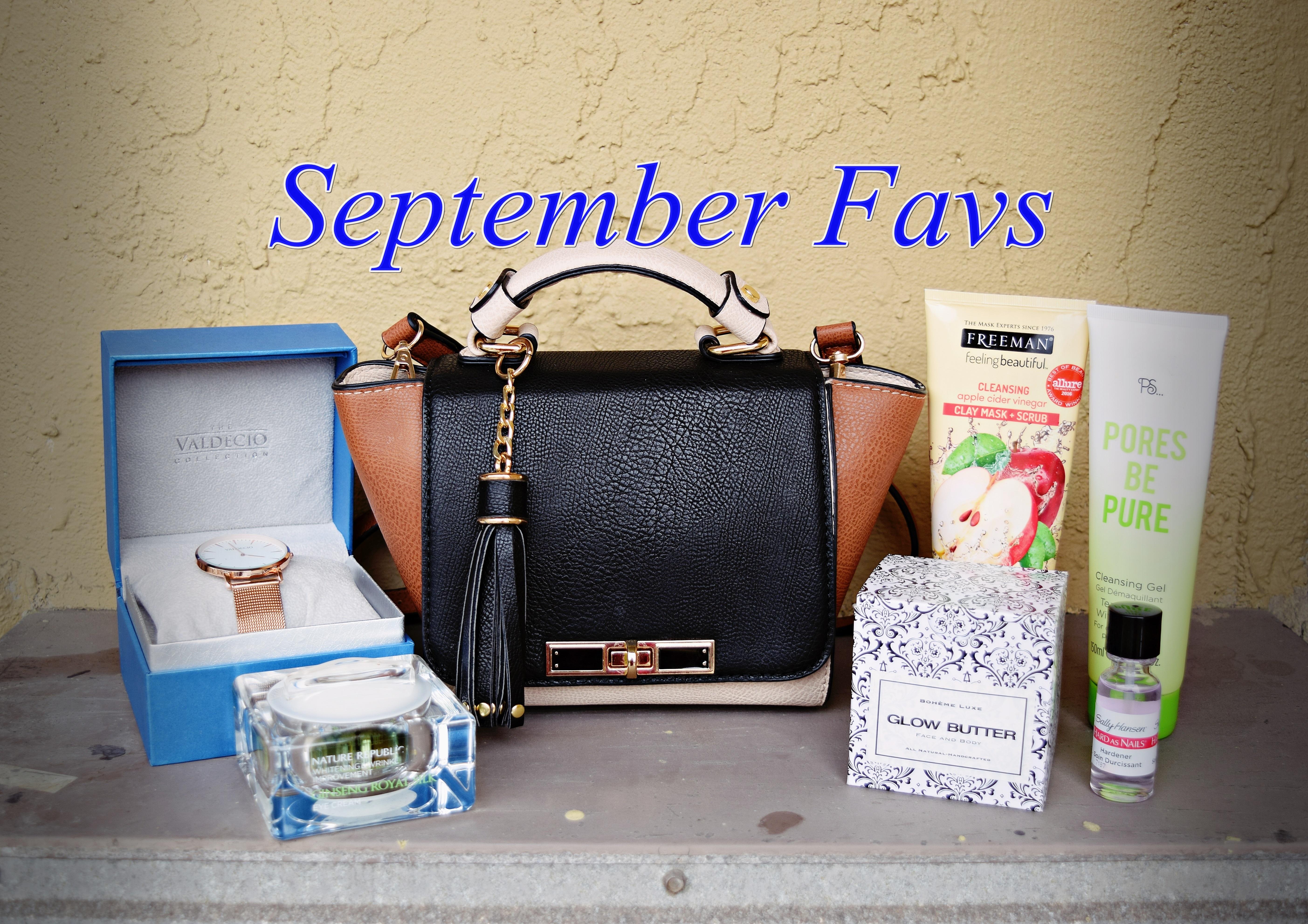 C's September Favorites