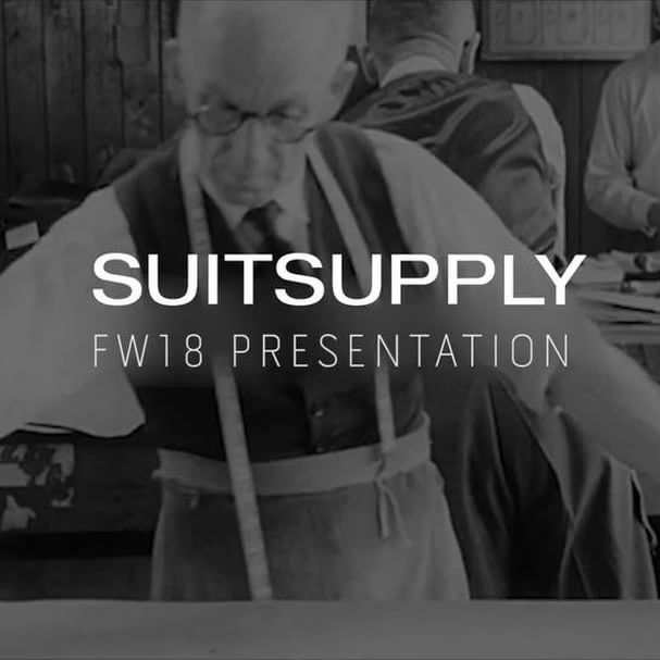 NYFWM Day 1: Suitsupply Men's FW18′
