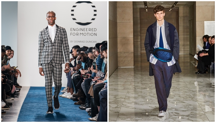 NYFWM Day 2: EFM & Perry Ellis AW18′